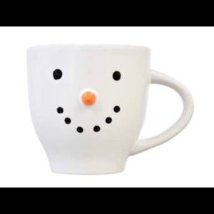 Christmas Farmhouse Snowman ceramic mug